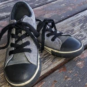 Boys name brand sneakers sz 10